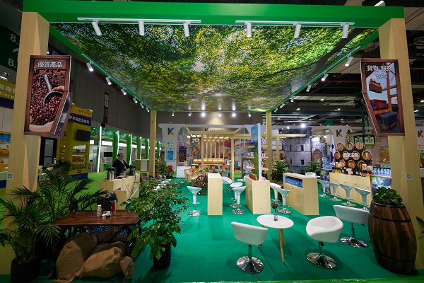 SIAL China exhibition booth design