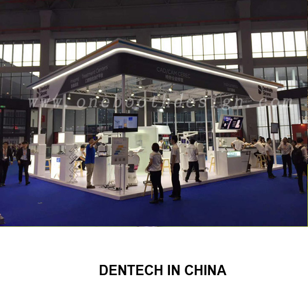 Dentech China exhibition display stands