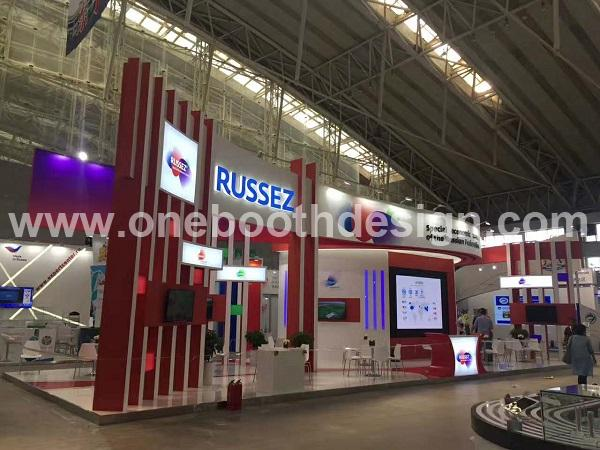 ITB China trade show stand design