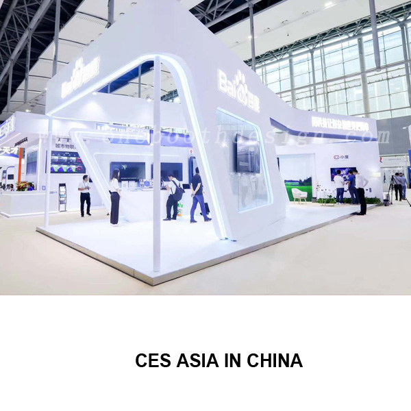 CES Asia Exhibition Booth Design